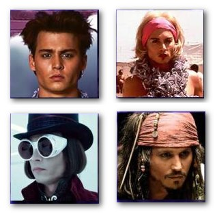 Johnny Depp Characters The Od