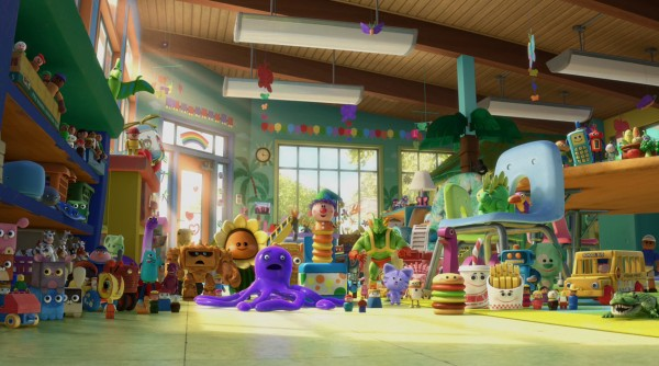 Day Care Toy Story 3 : Movie review toy story the o d